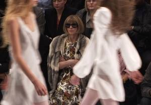 Anna Wintour in <em>The September Issue</em>.