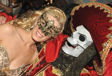 Nothing beats a masquerade ball.