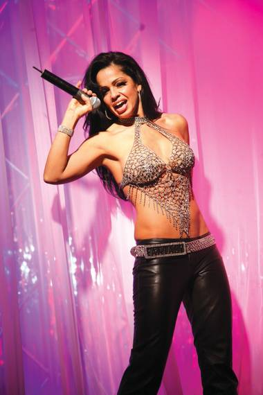 Stephanie Dianna Sanchez is known as Stephanie Jordan, the powerhouse singer of Fantasy at the Luxor.