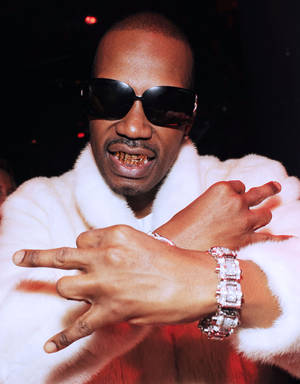 Juicy J of Three 6 Mafia joined Tiesto at The Bank on October 8, 2009.
