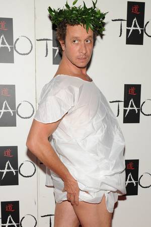 Pauly Shore kicks off the first Toga Party & Beer Garden at Tao in The Venetian.