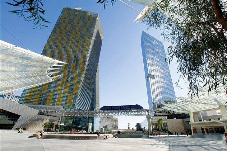 Veer Towers at CityCenter