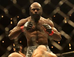 Rampage wasn't there to celebrate in Kimbo Slice's victory over Houston Alexander.
