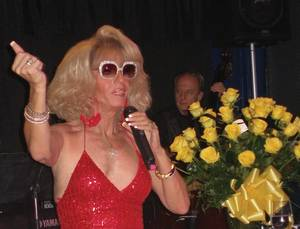 Blazing a trail in style: Kenny Kerr helped opened the doors to the drag production show in Vegas.