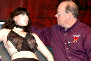 True Companions: Roxxxy the robot and her creator Douglas Hines.