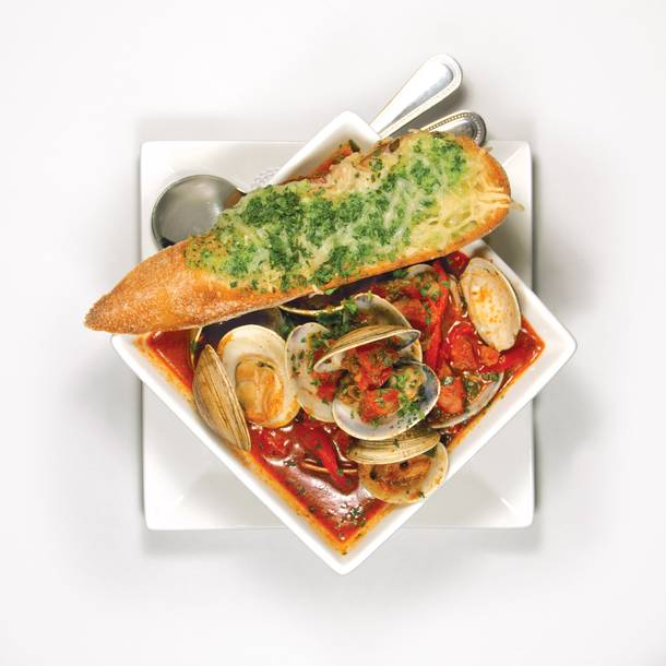 #4: Chorizo clams