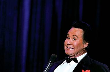 WHICH WAYNE? Wayne Newton says there's only one Mr. Las Vegas.