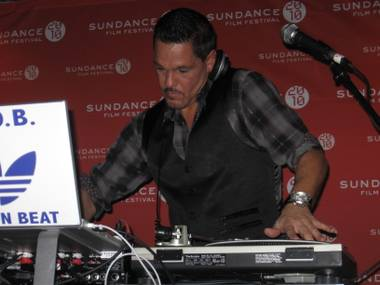 Vegas' own DJ R.O.B. headlines the Sundance 2010 opening night party.