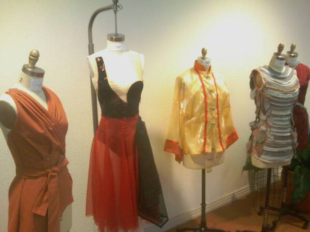Costumes from the Nevada Ballet