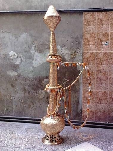 One very large hookah.