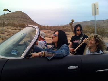 "A still from Sin City Sinners' video, ""Goin' to Vegas"""