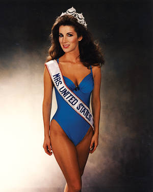 While at UNLV, Jacobs won Mrs. USA.