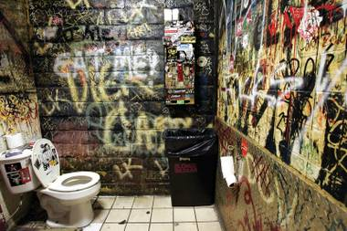 The facilities at the Double Down Saloon