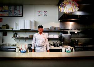 Tiffany's Cafe is a real piece of Vegas history, and that includes the cook, Louie.