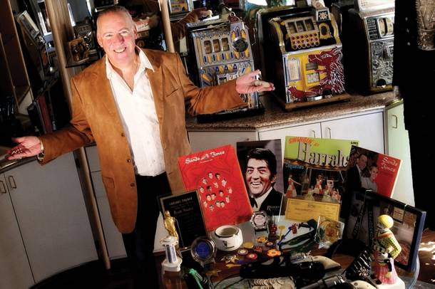 Casino memorabilia collector Steve Cutler
