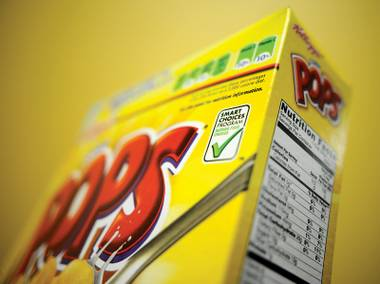 The FDA may soon start putting nutritional info on the front of products.