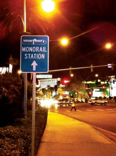 Monorail signage is woefully confusing.
