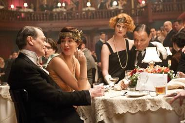 The roaring '20s: Steve Buscemi (left) in Boardwalk Empire
