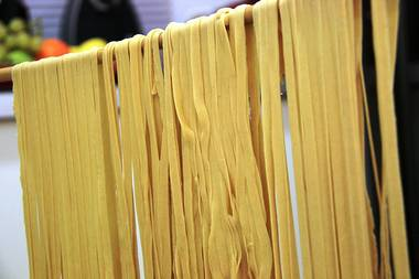 The Pasta Shop makes pasta similar to this.