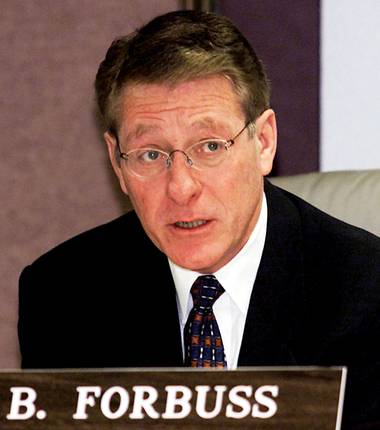 Bob Forbuss is known for remaining cool and steady in virtually any situation.