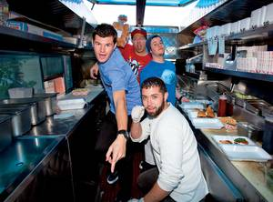 The crew of Slidin' Thru knows the key to operating a successful gourmet food truck is attitude. Oh, and some amazing burgers.