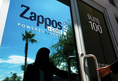 A view of Zappos' headquarters in Henderson. The company plans to relocate in 2012 to the building now occupied by Las Vegas city government.