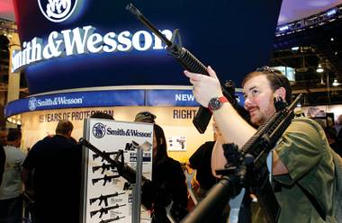 Last week's gun convention sprawled over 630,000 square feet.