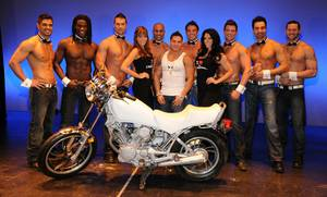 Ronnie Ortiz-Magro and Chippendales at The Rio