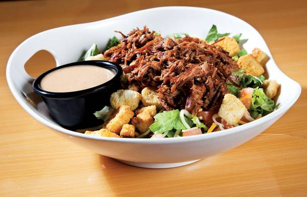 BBQ makes everything better. Even salads.