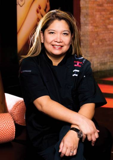 Linda Rodriguez, the executive chef at Hachi at Red Rock Resort.