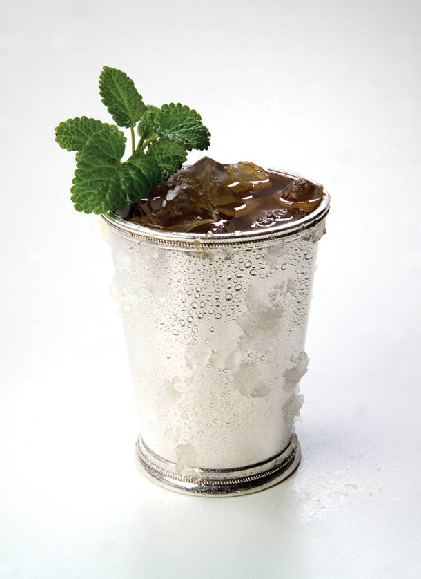 Sip on a mint julep (pictured) this Saturday while watching the race. The recipe below is courtesy of Rhumbar at the Mirage.