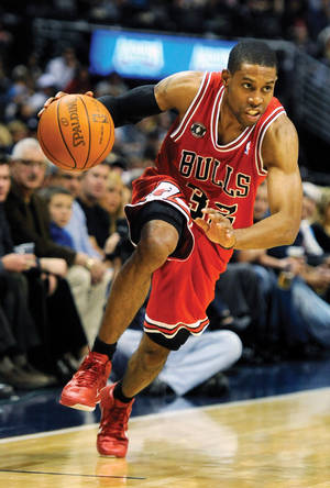 Chicago Bulls guard C.J. Watson played on the Bishop Gorman Gaels' 2000 and 2002 championship teams.