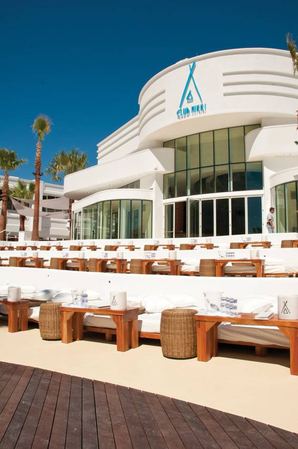 Nikki Beach Las Vegas features decor and furniture similar to all nine of the international Nikki Beach outposts.