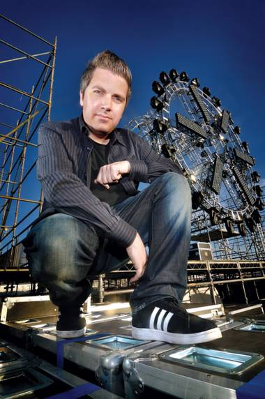 Electric Daisy Carnival creator Pasquale Rotella at the Las Vegas Motor Speedway.