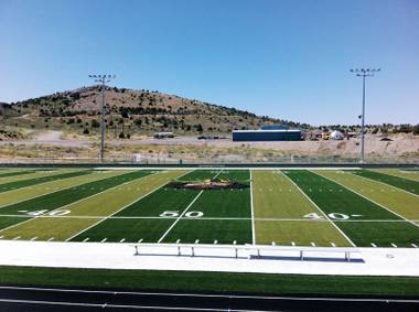 Eureka County, thanks to gold, has more cash than it knows what to do with. New football field? No problem.