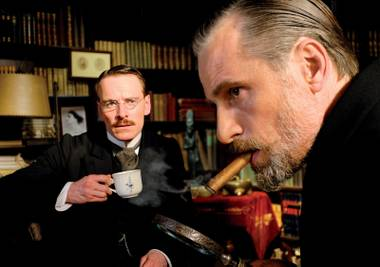 "Viggo Mortenson as Sigmund Freud. He'll be getting ""your mom"" jokes for years."