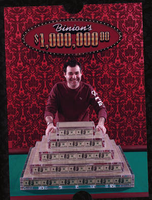 "Too bad Friess can't take Binion's fat stacks with him to ""parts unknown."""