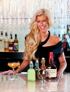 Chandelier Bar GM Mariena Mercer makes culinary-focused cocktails based on personal experiences, like our cover cocktail, The Angel's Landing.