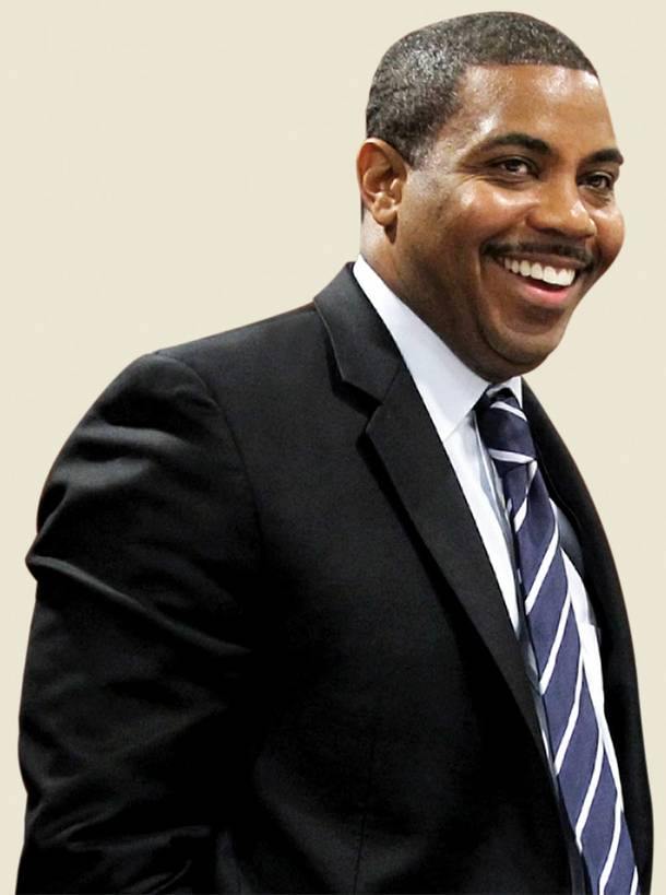 Democratic state Sen. Steven Horsford secured No. 69 for his community efforts in Nevada.