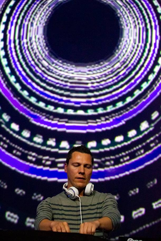 Tiesto wraps up his residency at the Joint on Saturday night.