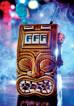 The Tiki Bandit from Frankie's Tiki Room