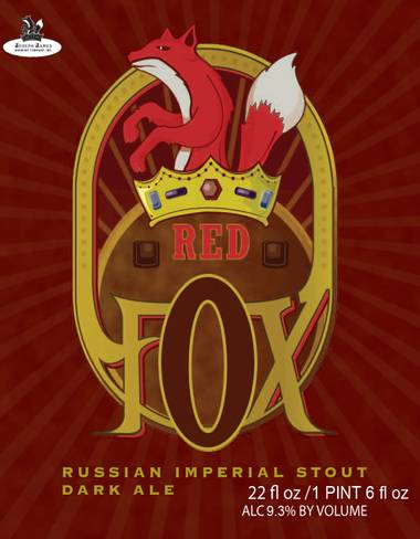 Ken Miller samples Joseph James' Red Fox Imperial Russian Stout