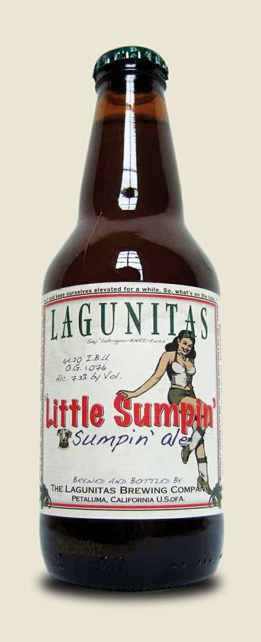 Ken Miller reviews Lagunitas' Little Sumpin' Sumpin' Ale