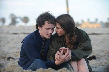 Yelchin and Jones, together, but not for long.