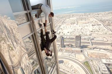 Feeling nauseous? Yeah, us too, but we still want to see 'Mission: Impossible — Ghost Protocol'.