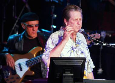 Brian Wilson performs at Boulder Station on October 30, 2004.