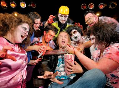 Stage fright: Sirc Michaels says theater is not dead—just a little undead.