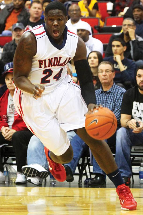 Findlay Prep's Anthony Bennett