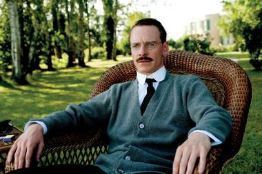Is Michael Fassbender (shown here as Carl Jung) suddenly in everything, or is it just us?