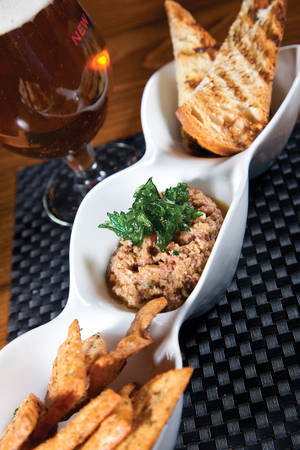 Olive tapenade you can make during a commercial break.